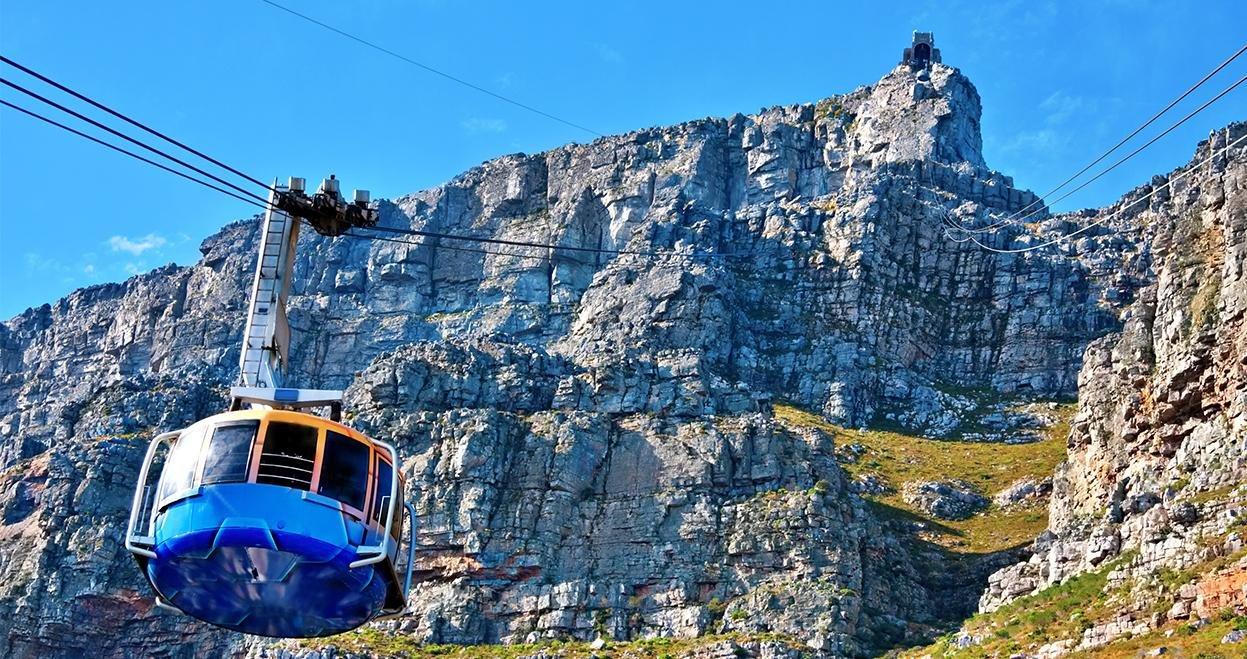 Bezienswaardigheid Tafelberg in Zuid-Afrika