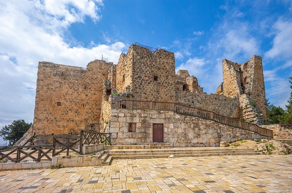 Ajloun, het enige islamitische kasteel in Jordanië