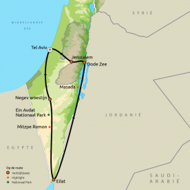 Van Jeruzalem naar de Negev