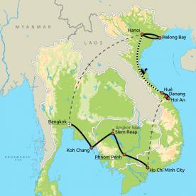 Thailand, Vietnam & Cambodja GRO